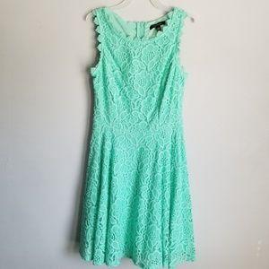 City Studio Green Dress